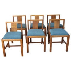 Early English Oak Chairs by Heals London