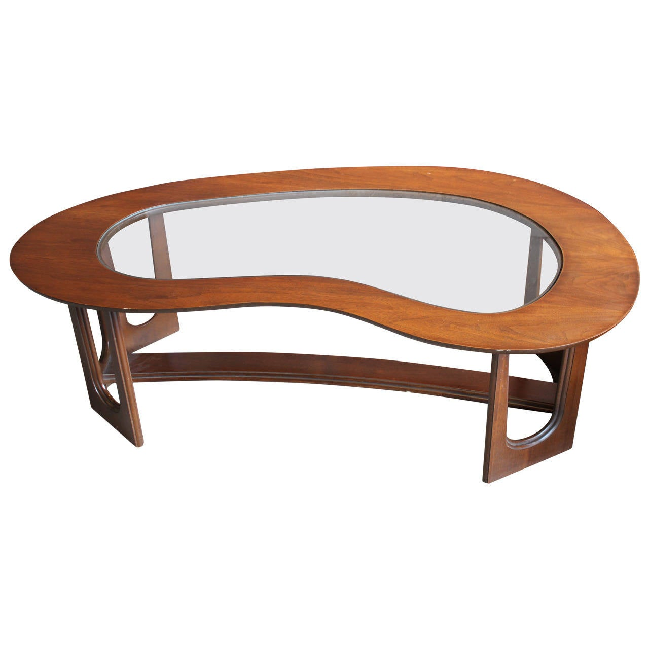 Atomic Shape Free Form Mid Century Coffee Table At 1stdibs