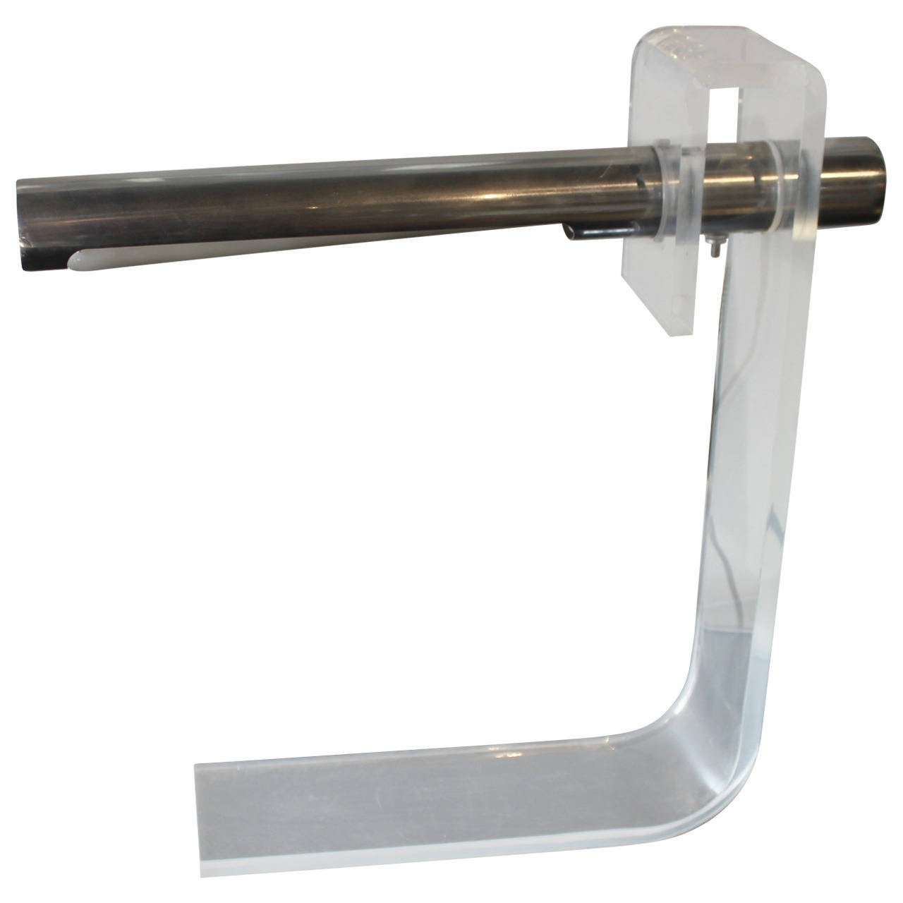 Aluminum and Acrylic Table Lamp by Sonneman