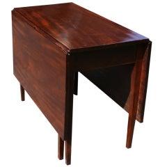 Antique Mahogany Drop-Leaf Table