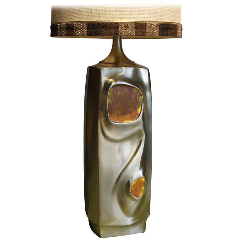 Modernist Laural Table Lamp