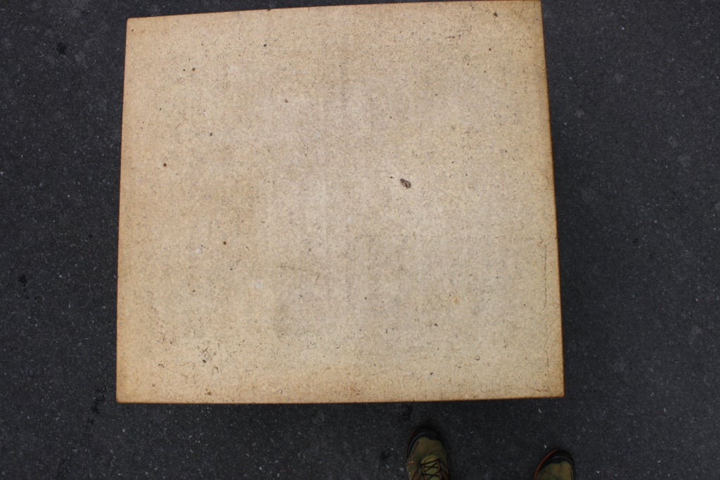 Paul Frankl Two-Tier Cork Table In Excellent Condition For Sale In Hudson, NY