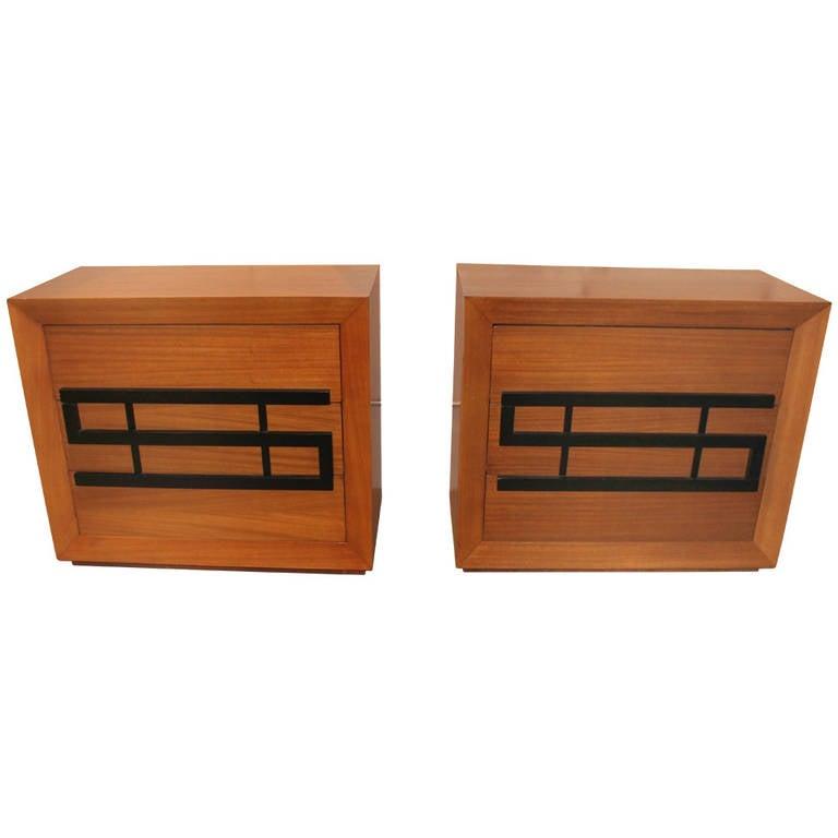Pair of Dressers Designed by Maximilian Karp