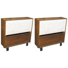 Pair of George Nelson Twin Headboards