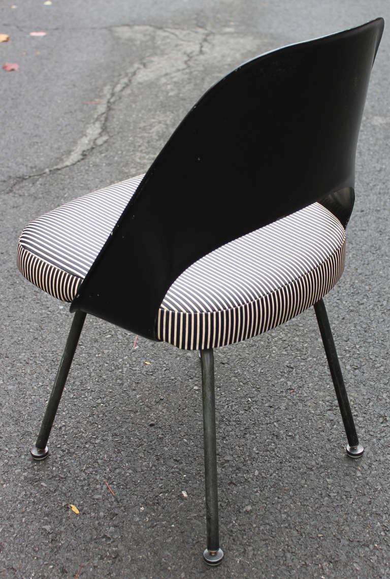 Mid Century Modern 72PSB Chair Eero Saarinen For Knoll Set Of 4 For Sale