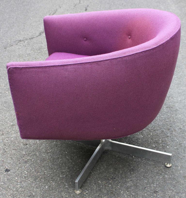 Thayer Coggin Tilt Swivel Tub Chair at 1stdibs