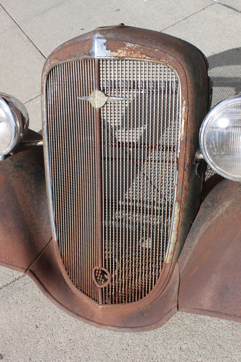 1930 S Chevy Grill With Fenders At 1stdibs