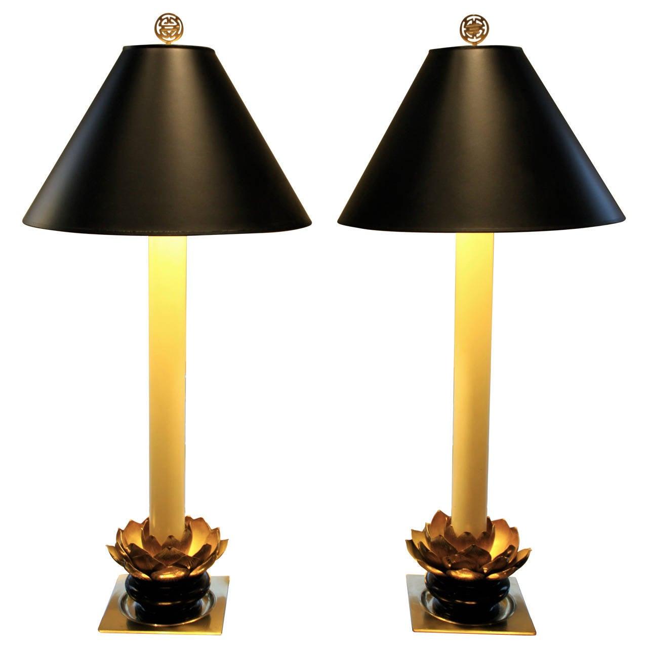 Lotus Table Lamps Stiffel