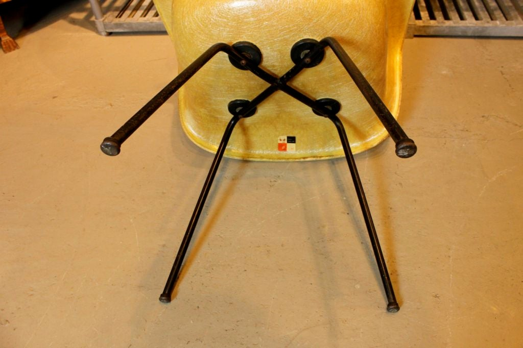 Charles and Ray Eames for Herman Miller Zenith Rope Edge DAX In Good Condition For Sale In Hudson, NY