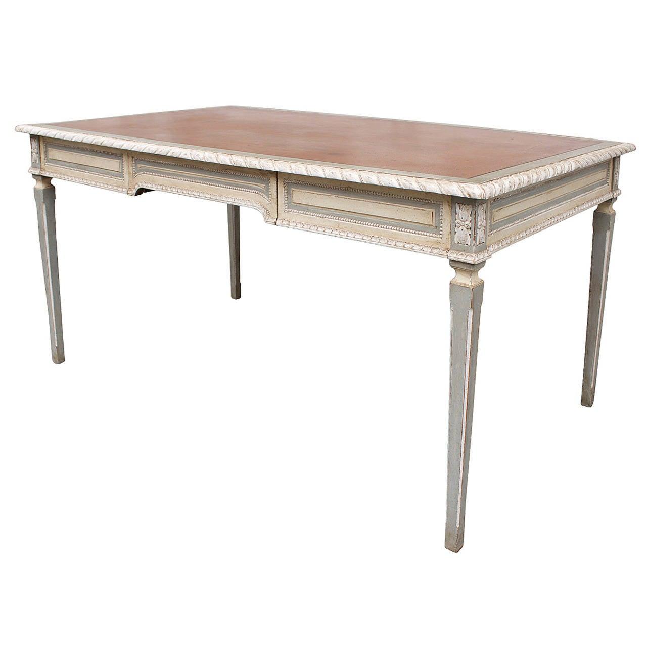 Large Louis Xvi Style Desk At 1stdibs