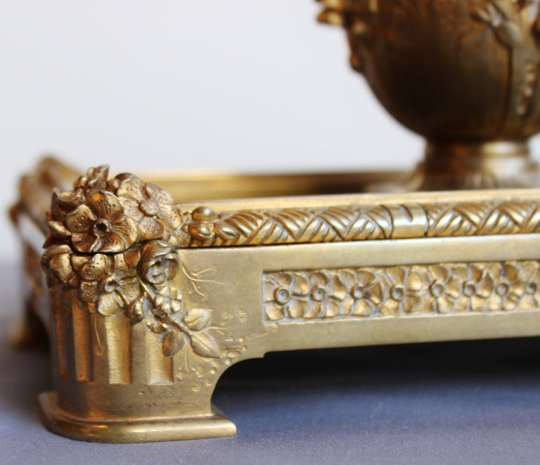 Bronze Inkwell by