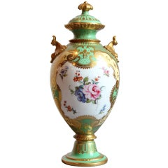 "Beautiful ""Royal Crown Derby"" by Daulton Lidded Urn"