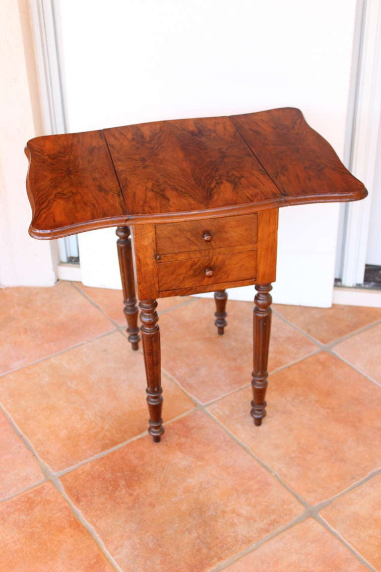 Louis philippe period work table and nightstand for sale for Table louis philippe