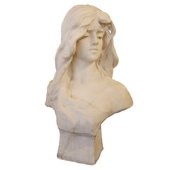 French Marble Bust