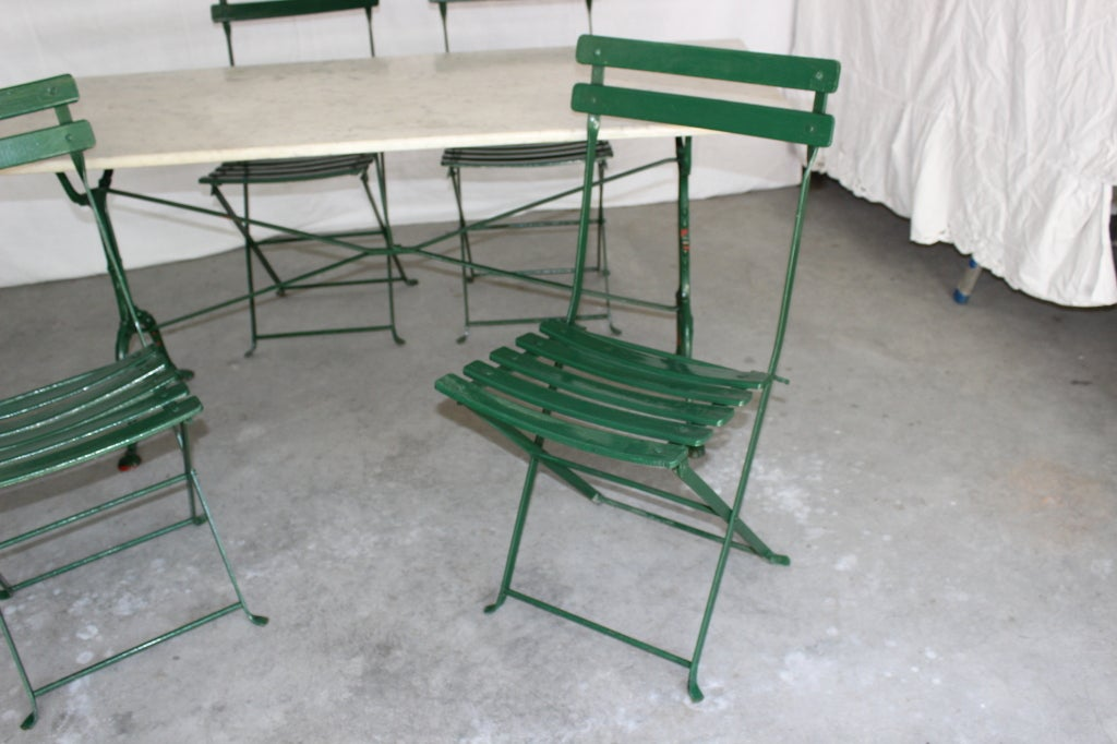 antique french bistro table and chairs at 1stdibs