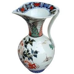 Rare Chinese Imari Porcelain Pitcher