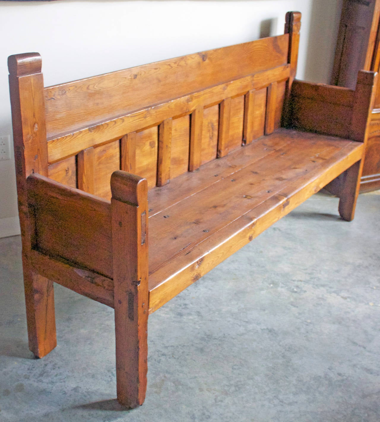 19th Century Large French Country Bench For Sale At 1stdibs