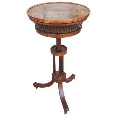 Charles X period  Satinwood Inlaid Ladies work table
