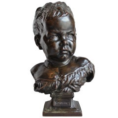 "Bronze Bust of a ""Boudeur"""