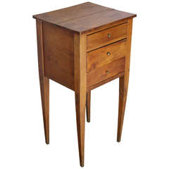 Provincial Directoire Period Side Table