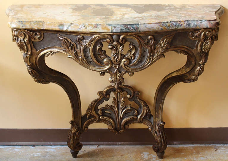 French Console Table french 18th century louis xv console table for sale at 1stdibs