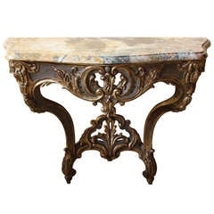 French 18th Century Louis XV Console Table