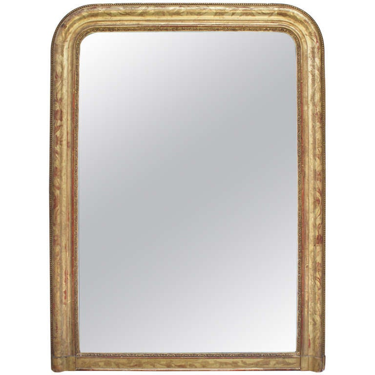 French louis philippe period mantel mirror at 1stdibs for Mantel mirrors