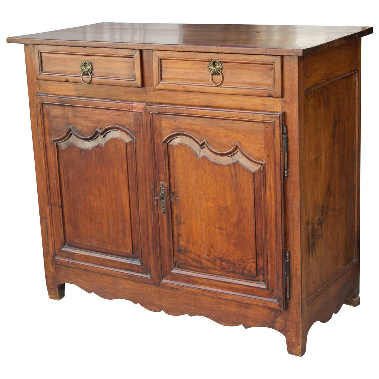 18th century french country louis xiv walnut buffet or for French country furniture