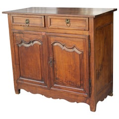 18th Century French Country Louis XIV Walnut Buffet or Sideboard