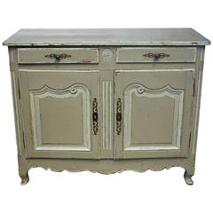 18th Century French Provincial Painted Buffet