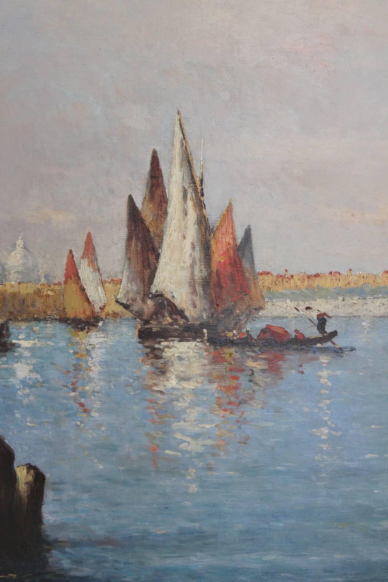 Belle Époque 19th Century Painting