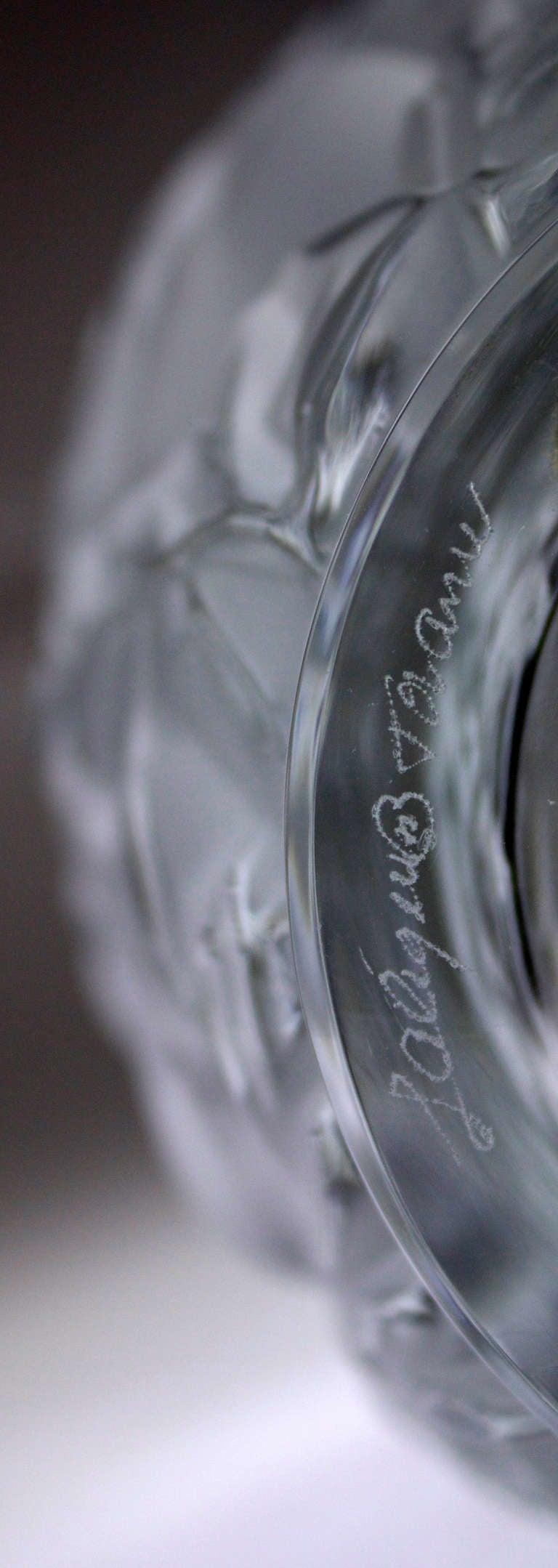 Lalique crystal vase bagatelle of love birds at 1stdibs other lalique crystal vase bagatelle of love birds reviewsmspy