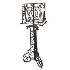 French Forged Iron Lectern