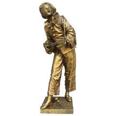 """Bouret  """"Au Claire de la Lune"""" Bronze"""