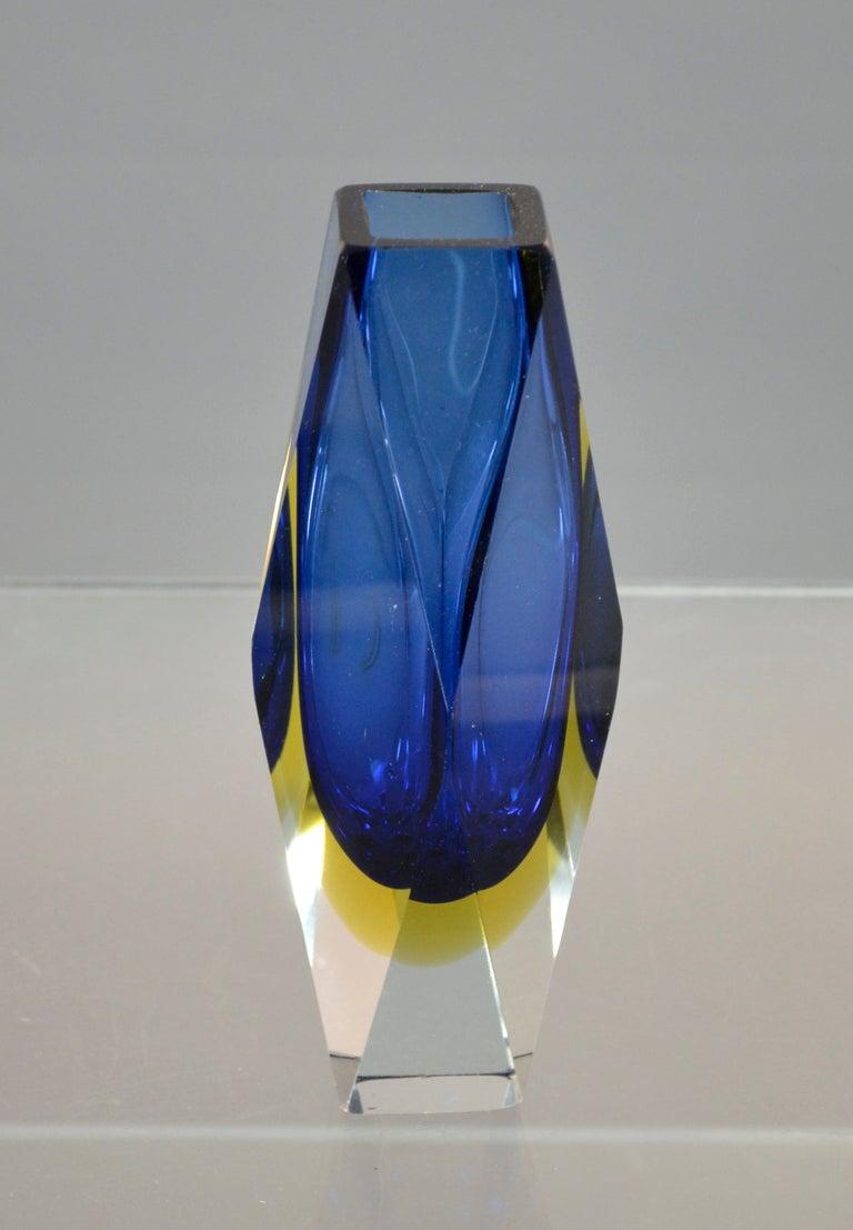 Murano Vase Images Murano Sommerso Vase Image