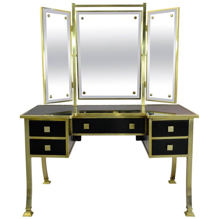 art deco dressing table at 1stdibs. Black Bedroom Furniture Sets. Home Design Ideas