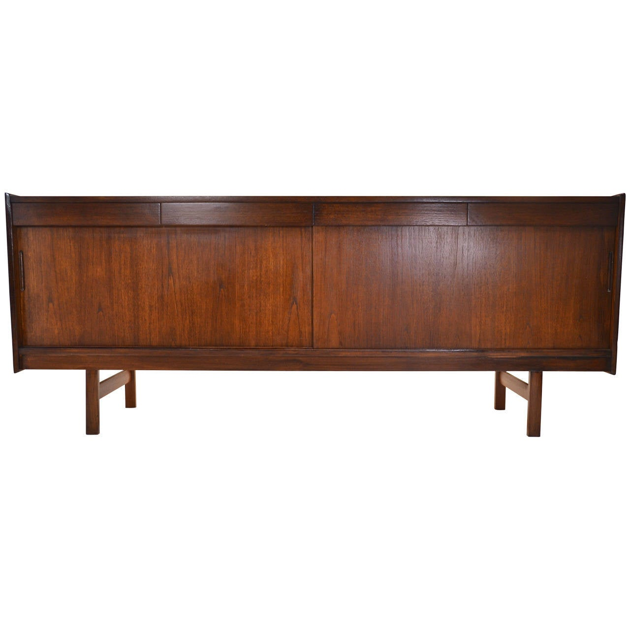 Scandinavian modern teak sideboard circa 1960s at 1stdibs for Sideboard scandi
