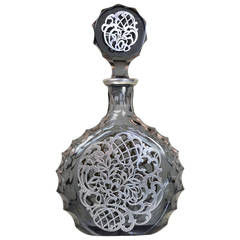 Mesa Silver Plate And Crystal Decanter By Riedel At 1stdibs