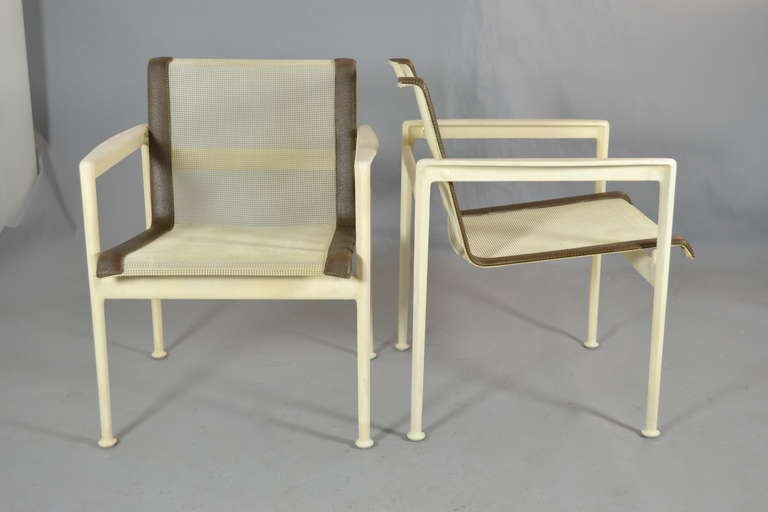 Richard Schultz For Knoll 4 Chairs And Table At 1stdibs