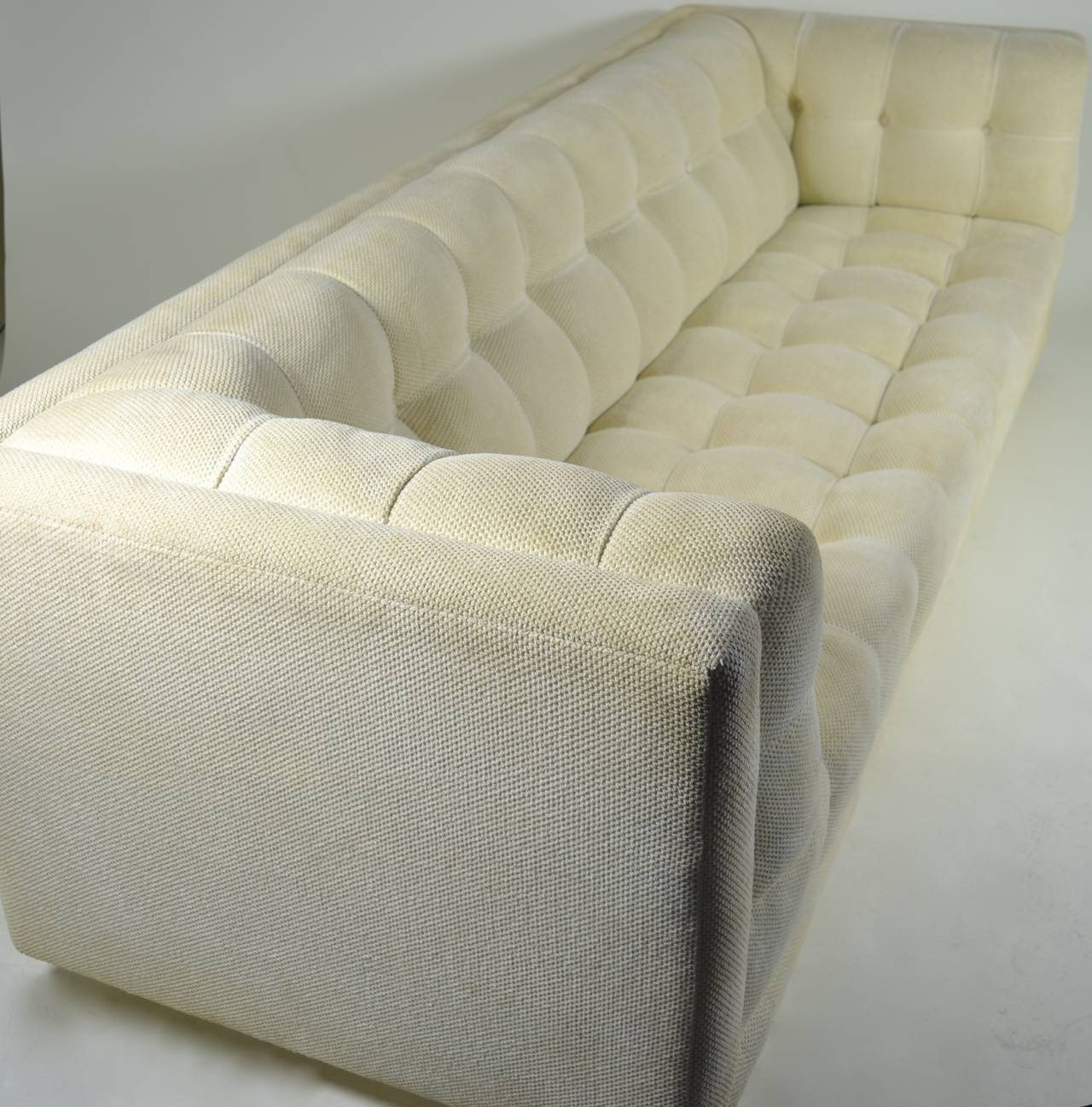 Modern Chesterfield Sofa, circa 1970 For Sale at 1stdibs
