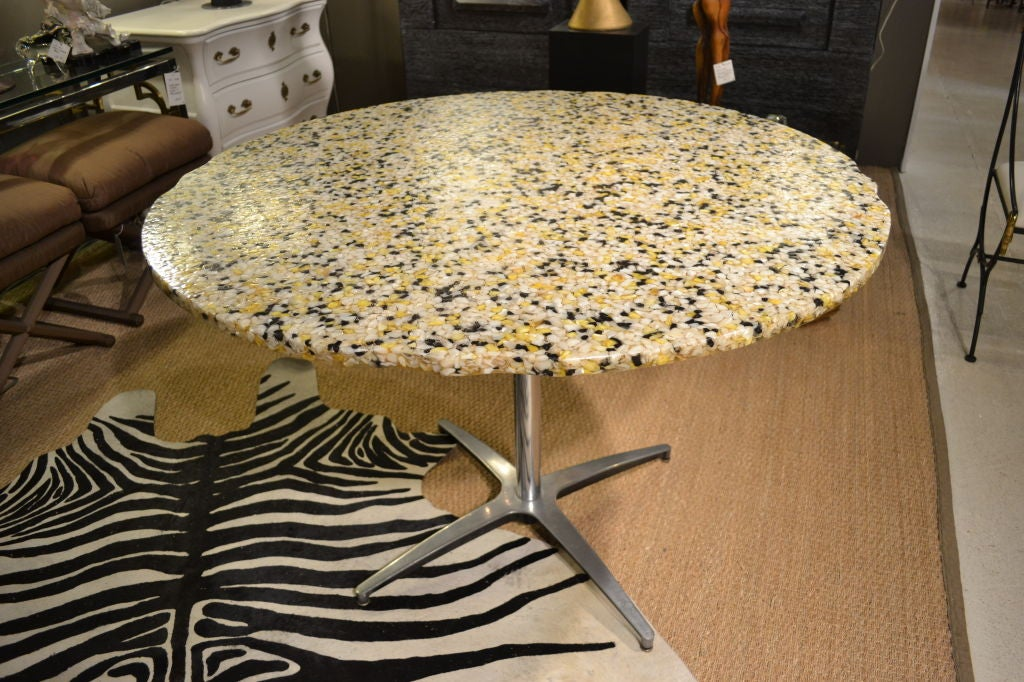 Sea Shell And Acrylic Dining Table At 1stdibs
