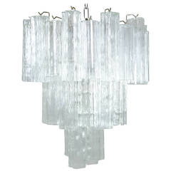 Murano Tronchi Chandelier Three-Tiers