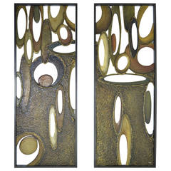 "Architectural Panels by Richard Boprae, ""Rhythm"" 90"""