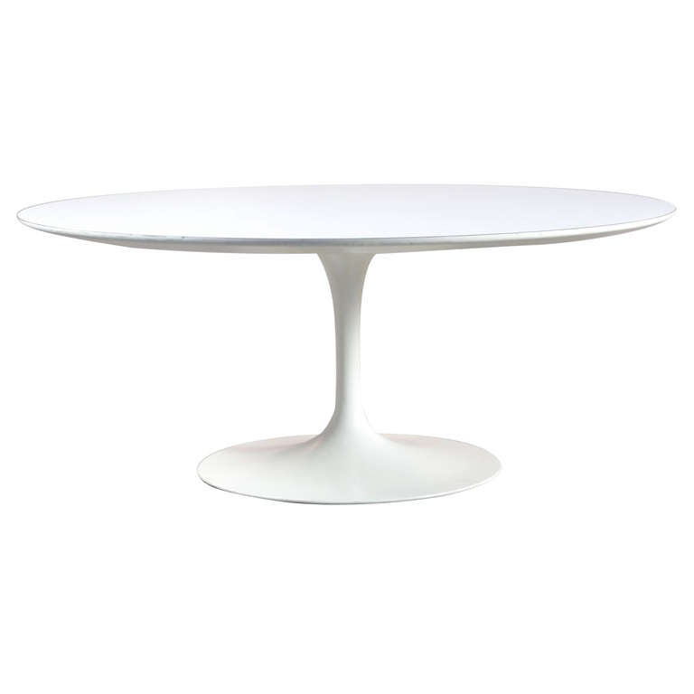 Early Eero Saarinen For Knoll 36 Quot Round Cocktail Table At