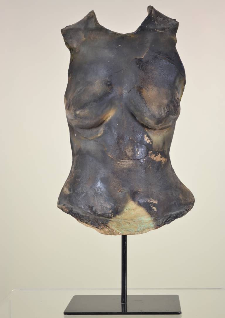 Louis Mendez (1929-2012) was a recipient of a Louis comfort Tiffany award for design and development of large-scale ceramic art in architectural settings. His work is included in the collections of the Museum of Art and Design, the Arizona State