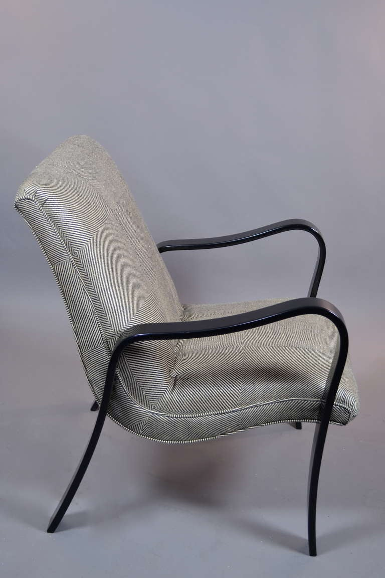 thonet lounge chair at 1stdibs. Black Bedroom Furniture Sets. Home Design Ideas