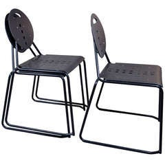 Italian Stacking Chairs