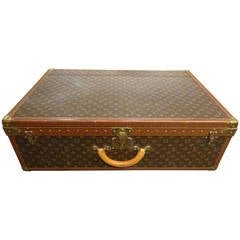 Jumbo Vintage Louis Vuitton Monogram Suitcase