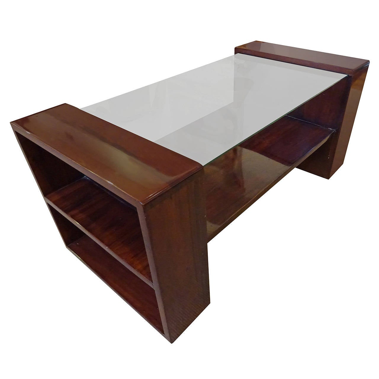 Art Deco Rosewood Coffee Table At 1stdibs