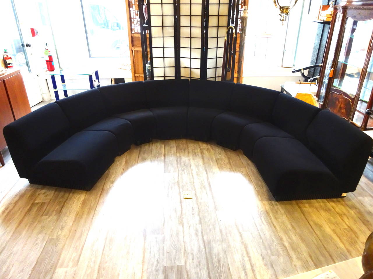 High Quality Herman Miller Eight Piece Sectional